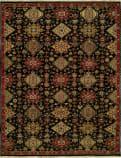 Famous Maker Soumak 100278 Black Area Rug