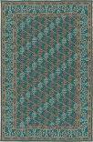 Kaleen Ayrlies Garden Agc04-91 Teal Area Rug