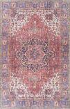 Kaleen Boho Patio Boh04-25 Red Area Rug