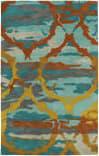 Kaleen Brushstrokes Brs02-91 Teal Area Rug