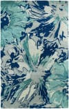Kaleen Brushstrokes Brs06-17 Blue Area Rug