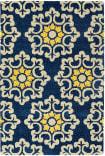Kaleen Global Inspiration Glb100-17 Blue Area Rug