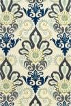 Kaleen Global Inspiration Glb11-17 Blue Area Rug