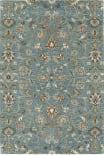 Kaleen Middleton Mid05-78 Turquoise Area Rug