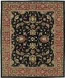Kaleen Taj Taj08-02 Black Area Rug
