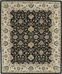 Kaleen Taj Taj13-02 Black Area Rug