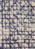 Karastan Enigma Contact Indigo Area Rug