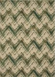 Karastan Cosmopolitan Trine Emerald Area Rug