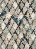Karastan Epiphany Eroded Diamonds Alabaster Area Rug