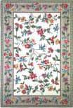 Kas Colonial Floral Vine Ivory 1707 Area Rug