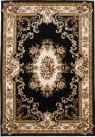 KAS Corinthian Aubusson Black-Ivory 5310 Area Rug