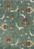 KAS Shiraz 5014 Blue Oushak Area Rug