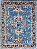 Kashee Vintage Light Blue 9'1'' x 11'8'' Rug