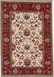 Kashee Vintage Ivory - Rust 4'1'' x 5'10'' Rug