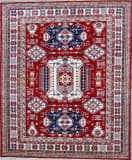 Kashee Royal Kazak Rust - Ivory 8'1'' x 9'8'' Rug