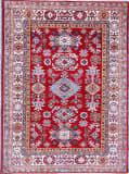 Kashee Royal Kazak Rust - Ivory 5'1'' x 6'10'' Rug