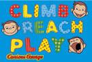 Fun Rugs Curious George George Climb - Reach - Play CG-02 Area Rug