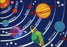 Fun Rugs Fun Time Solar System FT-170 Multi Area Rug