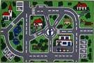 Fun Rugs Fun Time Streets FT-5019/96 Multi Area Rug