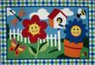 Fun Rugs Olive Kids Happy Flowers OLK-001 Multi Area Rug