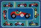 Fun Rugs Olive Kids Vroom OLK-053 Multi Area Rug