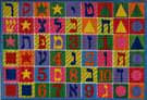 Fun Rugs Supreme Hebrew Numbers & Letters TSC-500 Multi Area Rug