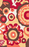 Loloi Angelou AN-16 Red / Yellow Area Rug