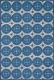 Loloi Taylor Hty12 Ivory / Blue Area Rug