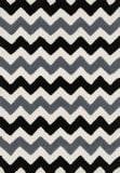 Loloi Lola Shag Ll-03 Black - Charcoal Area Rug