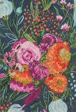 Loloi Wild Bloom Wv-04 Midnight - Plum Area Rug