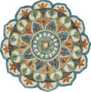 Lr Resources Dazzle 54085 Teal - Green Area Rug