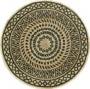 Lr Resources Synergy 54127BLK  Area Rug