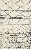 Lr Resources Matrix 81200 White - Black Area Rug