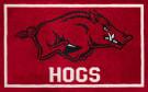 Luxury Sports Rugs Team University Of Arkansas Red Area Rug