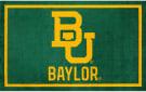 Luxury Sports Rugs Team Baylor University Green Area Rug
