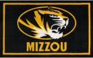 Luxury Sports Rugs Team University Of Missouri Black Area Rug