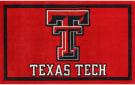 Luxury Sports Rugs Team Texas Tech University Red Area Rug