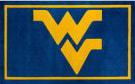 Luxury Sports Rugs Team West Virginia University Blue Area Rug