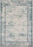 Momeni Luxe Lx-14 Blue Area Rug