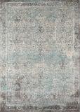 Momeni Luxe Lx-16 Turquoise Area Rug