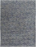 Nairamat Rugs Cabbage 100 Knot Blue Area Rug