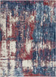 Nourison Etchings Etc02 Multicolor Area Rug