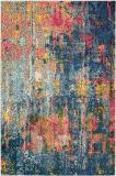 Nourison Celestial Ces09 Blue - Yellow Area Rug