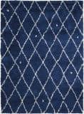 Calvin Klein Ck222 Riad Cksh1 Navy - Ivory Area Rug