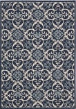 Nourison Carribean Crb02 Navy Area Rug