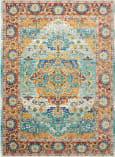 Nourison Delmar Dlm08 Multicolor Area Rug