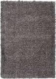 Nourison Ultra Plush Shag Ulp01 Charcoal Area Rug
