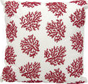 Nourison Outdoor Pillow E0403 Red White