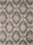 Nourison Tranquil Tra09 Grey - Pink Area Rug