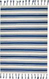 Nourison Solano Sln01 Ivory - Navy Area Rug